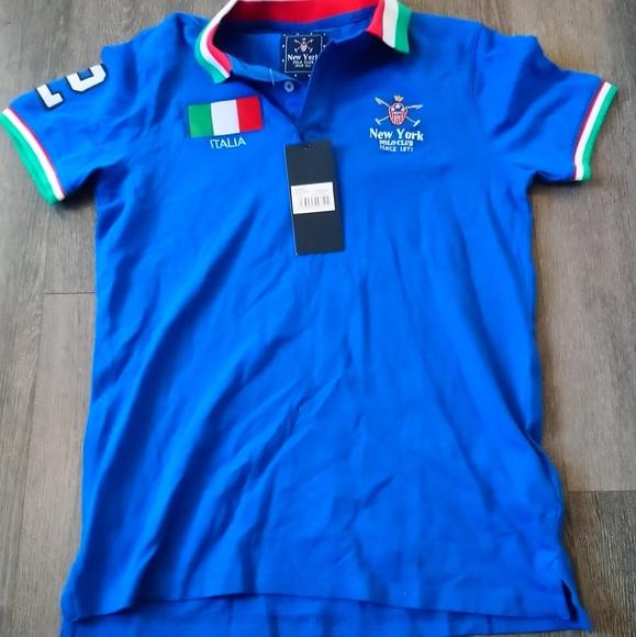 10/55$❤️ New York polo club mens polo italie